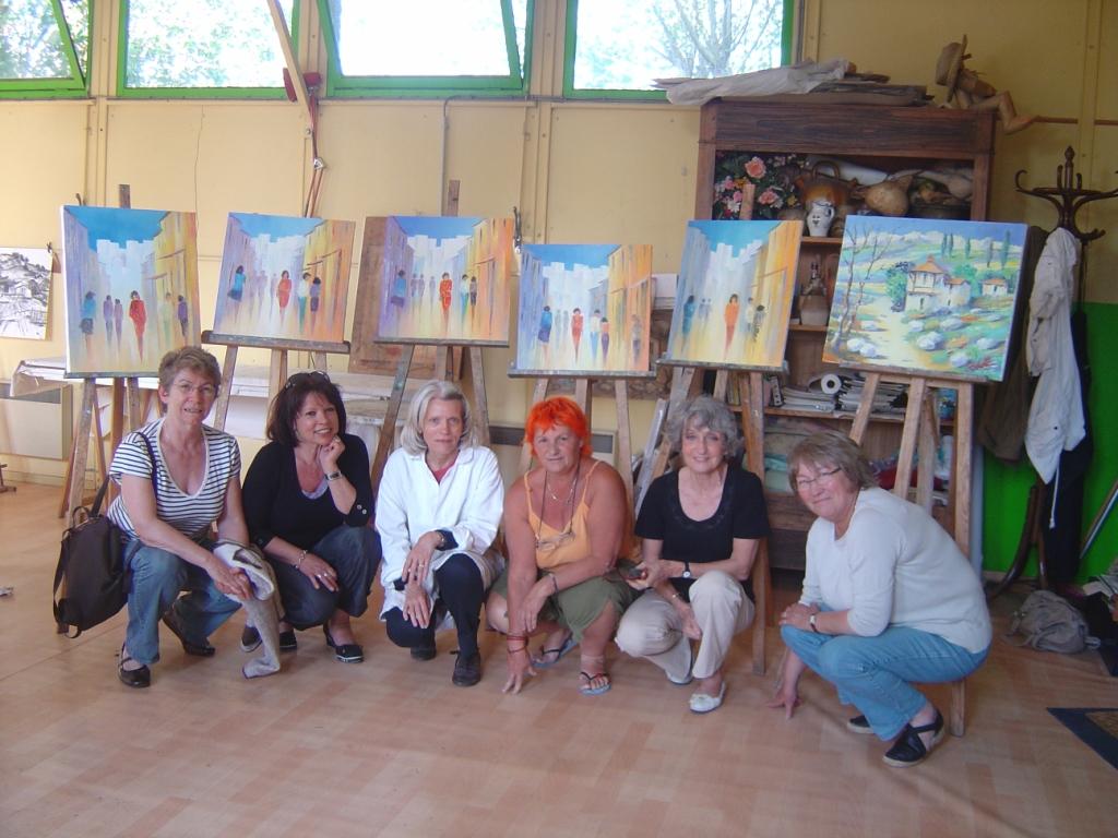 Stage toulouse des 7 et 8 mai 2011 stage de peinture au for Stage de cuisine toulouse